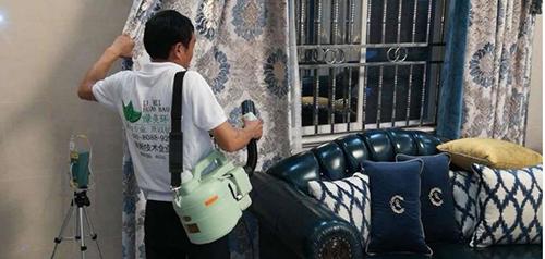 大亚湾保洁分享除甲醛及空气质量检测服务案例